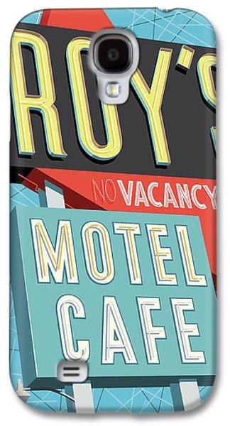 Roy's Motel Cafe Pop Art Galaxy S4 Case by Jim Zahniser