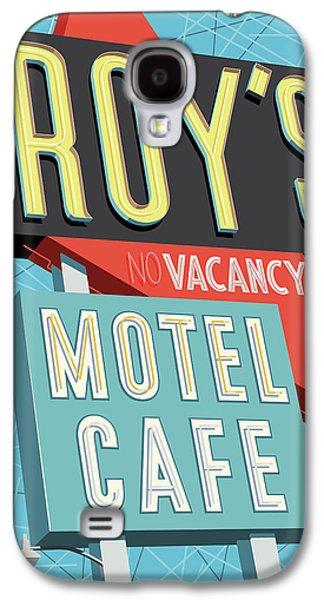 Roy's Motel Cafe Pop Art Galaxy S4 Case