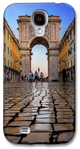 Rua Augusta Arch Lisbon Galaxy S4 Case