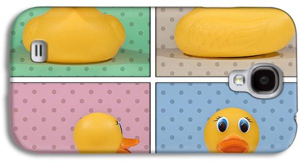 Rubber Ducky Galaxy S4 Case by Scott Norris