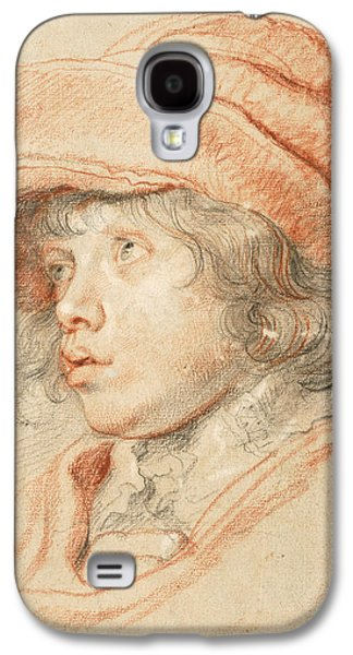 Rubens's Son Nicolaas Wearing A Red Felt Cap Galaxy S4 Case
