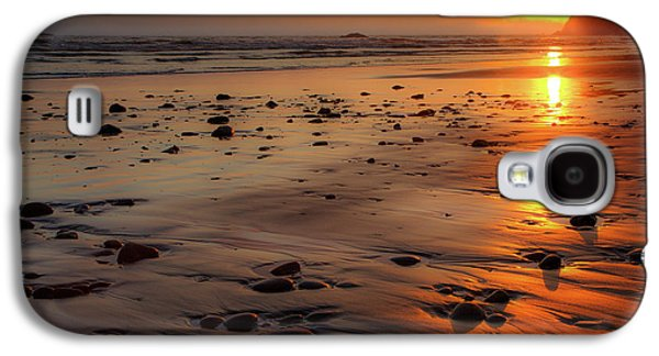 Galaxy S4 Case featuring the photograph Ruby Beach Sunset by David Chandler