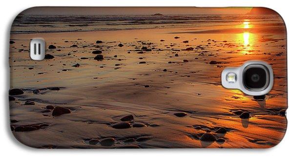 Ruby Beach Sunset Galaxy S4 Case by David Chandler