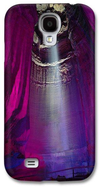 Ruby Falls Galaxy S4 Case by Edwin Verin