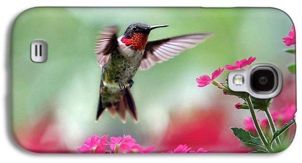 Ruby Garden Jewel Galaxy S4 Case by Christina Rollo