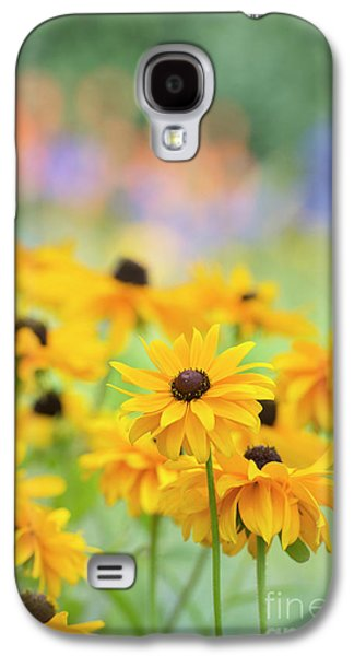 Rudbeckia Indian Summer Flowers Galaxy S4 Case by Tim Gainey