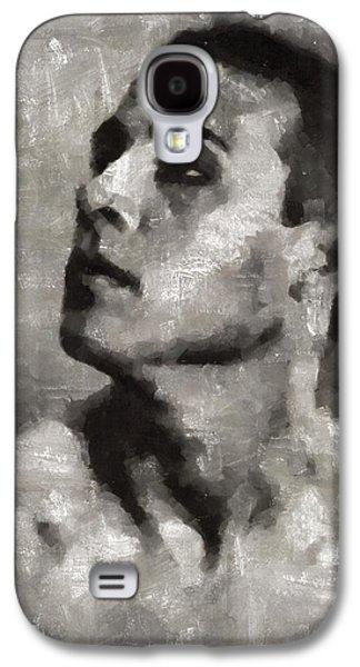 Rudolph Valentino, Vintage Actor Galaxy S4 Case