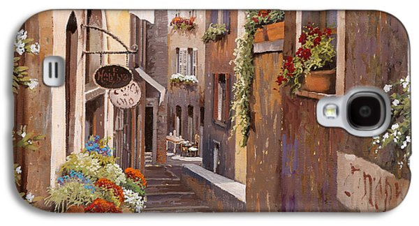 Rue Du Bresc In St Paul De Vence Galaxy S4 Case by Guido Borelli