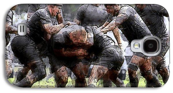 Rugby Scrum Galaxy S4 Case
