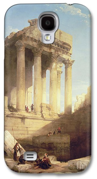 Ruins Of The Temple Of Bacchus Galaxy S4 Case by David Roberts