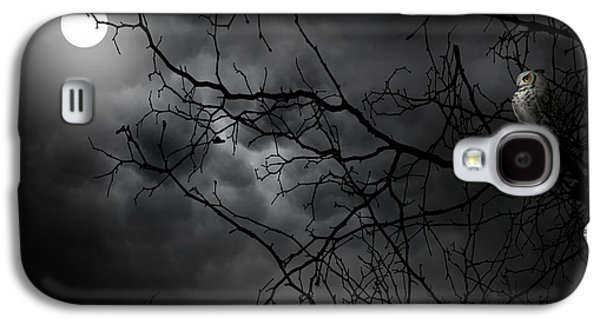 Ruler Of The Night Galaxy S4 Case by Lourry Legarde