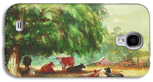 Cow Galaxy S4 Case - Rumination by Steve Henderson