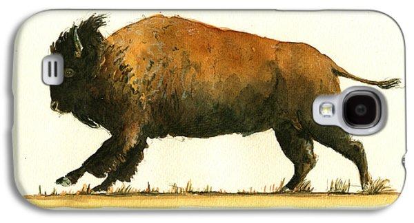 Running American Buffalo Galaxy S4 Case