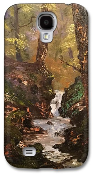 Running Waters On Cannock Chase Galaxy S4 Case by Jean Walker