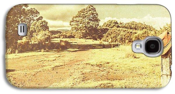 Rural Australia Panorama Galaxy S4 Case