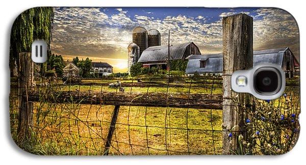 Rural Farms Galaxy S4 Case by Debra and Dave Vanderlaan