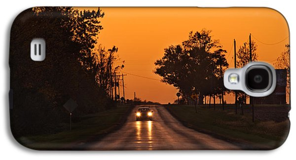 Rural Road Trip Galaxy S4 Case by Steve Gadomski