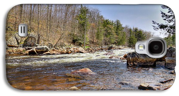 Galaxy S4 Case featuring the photograph Rushing Waters Of The Moose River by David Patterson