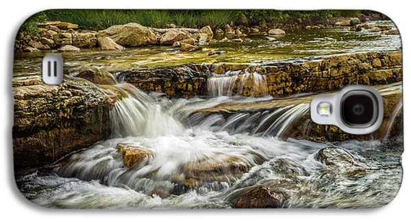 Rushing Waters - Upper Provo River Galaxy S4 Case by TL Mair