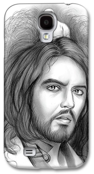 Russell Brand Galaxy S4 Case by Greg Joens