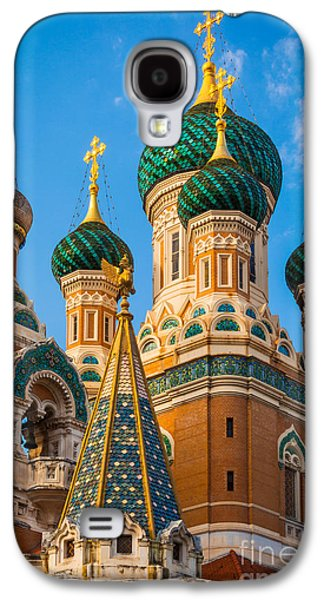 Russian Cupolas Galaxy S4 Case by Inge Johnsson