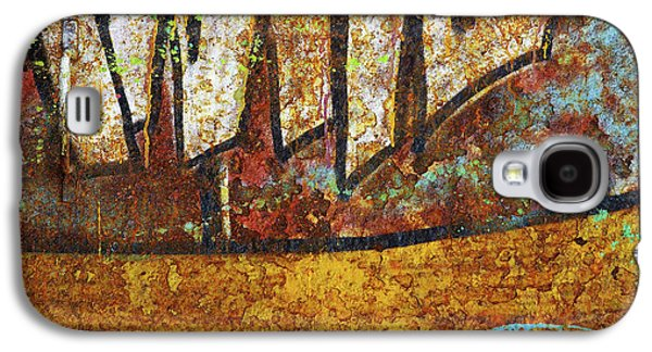 Mess Photographs Galaxy S4 Cases - Rust Colors Galaxy S4 Case by Carlos Caetano