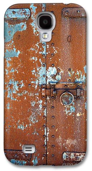 Rust N Blue Galaxy S4 Case