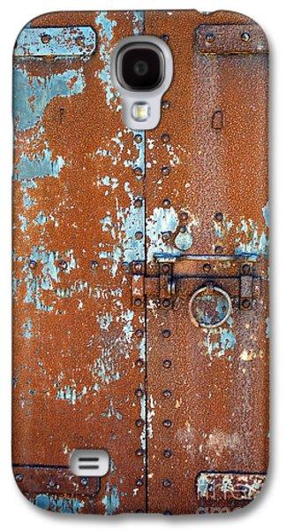 Rust N Blue Galaxy S4 Case by Skip Willits