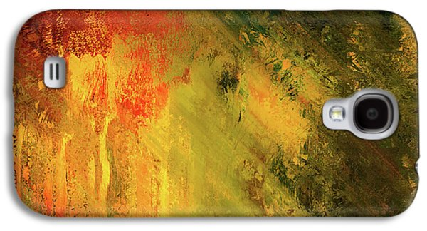 Rust Of Life Abstract Wall Art Galaxy S4 Case by Georgiana Romanovna