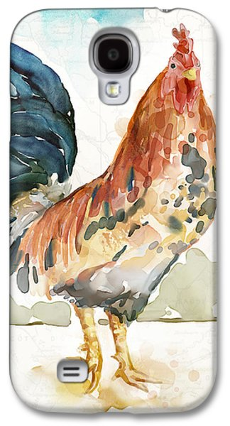 Rust Rooster Galaxy S4 Case by Mauro DeVereaux