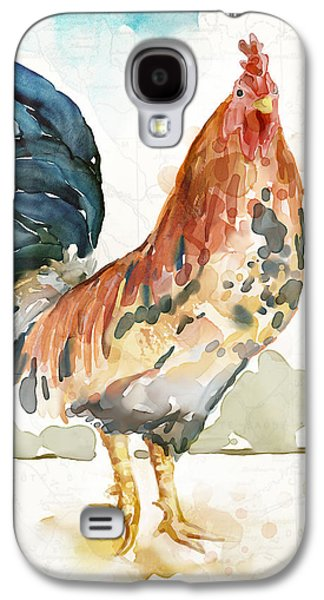 Rust Rooster Galaxy S4 Case