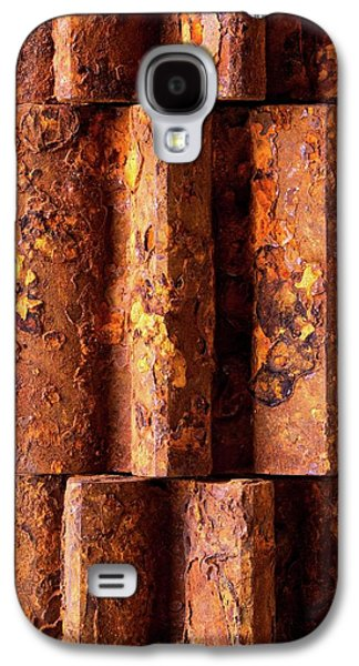 Rusted Gears 2 Galaxy S4 Case