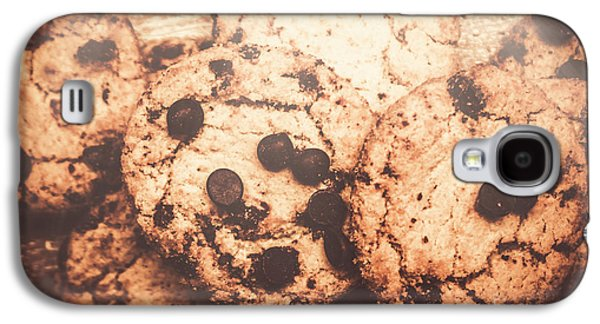 Rustic Chocolate Chip Cookie Snack Galaxy S4 Case