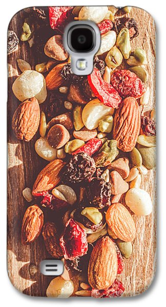 Rustic Dried Fruit And Nut Mix Galaxy S4 Case by Jorgo Photography - Wall Art Gallery