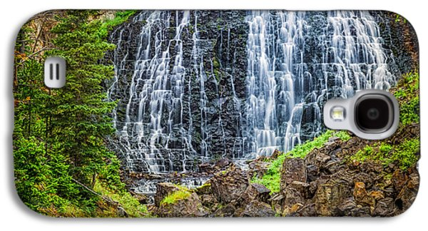Galaxy S4 Case featuring the photograph Rustic Falls  by Rikk Flohr
