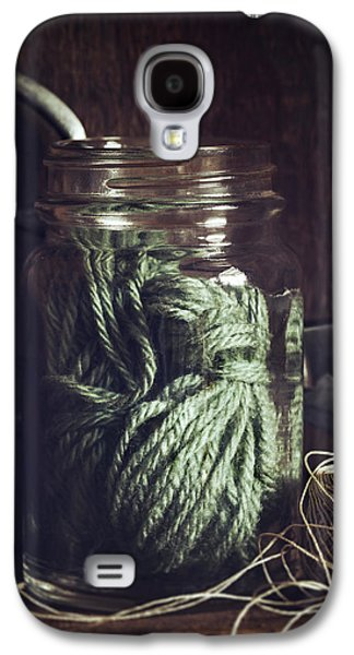 Rustic Green Galaxy S4 Case by Amy Weiss