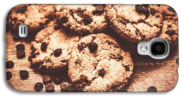 Rustic Kitchen Cookie Art Galaxy S4 Case