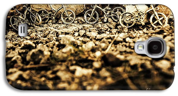 Rustic Mountain Bikes Galaxy S4 Case by Jorgo Photography - Wall Art Gallery