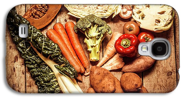 Rustic Style Country Vegetables Galaxy S4 Case by Jorgo Photography - Wall Art Gallery