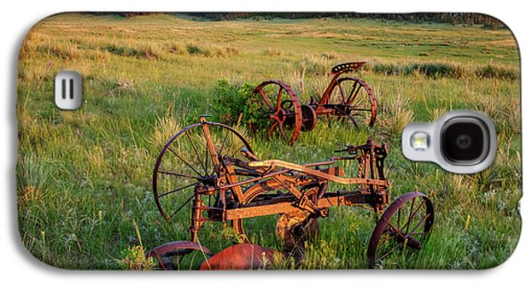 Rusty Machinery Galaxy S4 Case