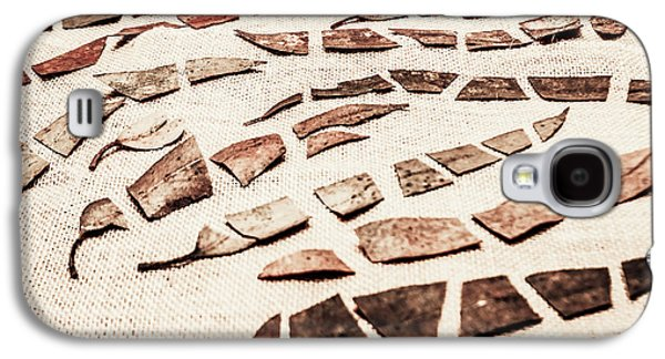 Rusty Metal Leaves Cut With Scissors Galaxy S4 Case by Jorgo Photography - Wall Art Gallery