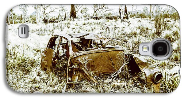 Rusty Old Holden Car Wreck  Galaxy S4 Case