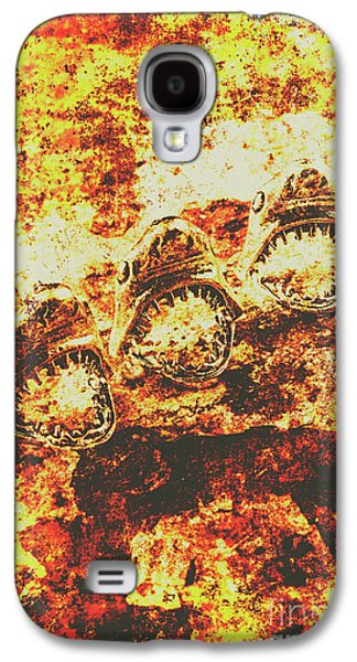 Rusty Shark Scene Galaxy S4 Case by Jorgo Photography - Wall Art Gallery