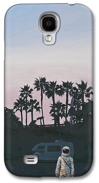 Galaxy S4 Case featuring the painting Rv Dusk by Scott Listfield