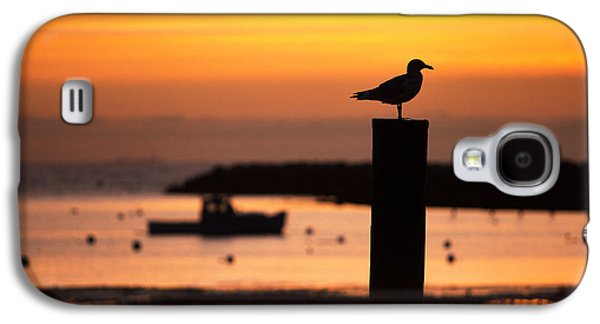 Rye Harbor Sunrise Galaxy S4 Case by Eric Gendron