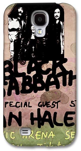 Def Leppard Galaxy S4 Case - Sabbath Tour Pittsburgh Pa 1978  by Enki Art