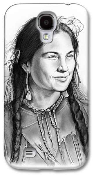 Sacagawea Galaxy S4 Case by Greg Joens