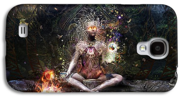 Sacrament For The Sacred Dreamers Galaxy S4 Case by Cameron Gray