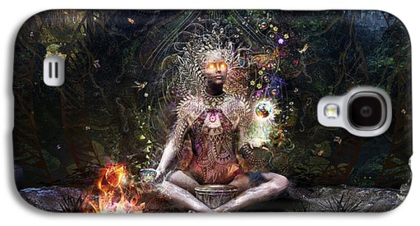 Drum Galaxy S4 Case - Sacrament For The Sacred Dreamers by Cameron Gray