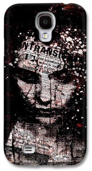 Sad News Galaxy S4 Case by Marian Voicu